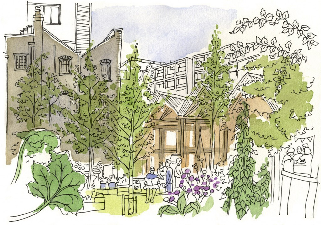Eastern Curve Garden - Dalston