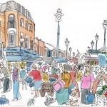 Ridley Road Market near Colvestone Crescent