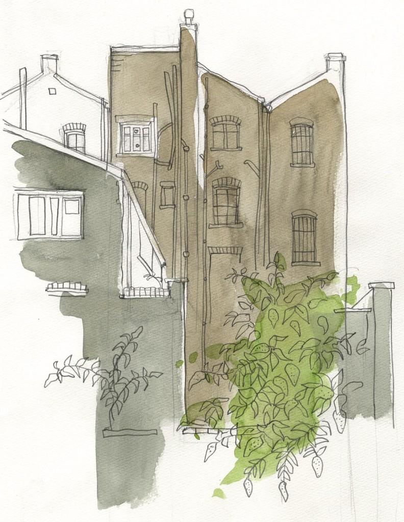 House Backs - Eastern Curve Garden