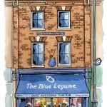 Blue Legume Restaurant, Stoke Newington, London N16