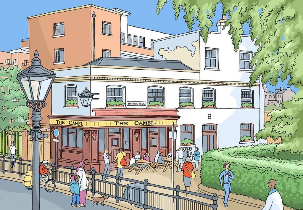 The Camel Pub, Bethnal Green, London
