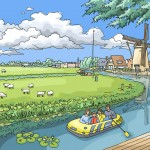 Canal scene, southern Holland