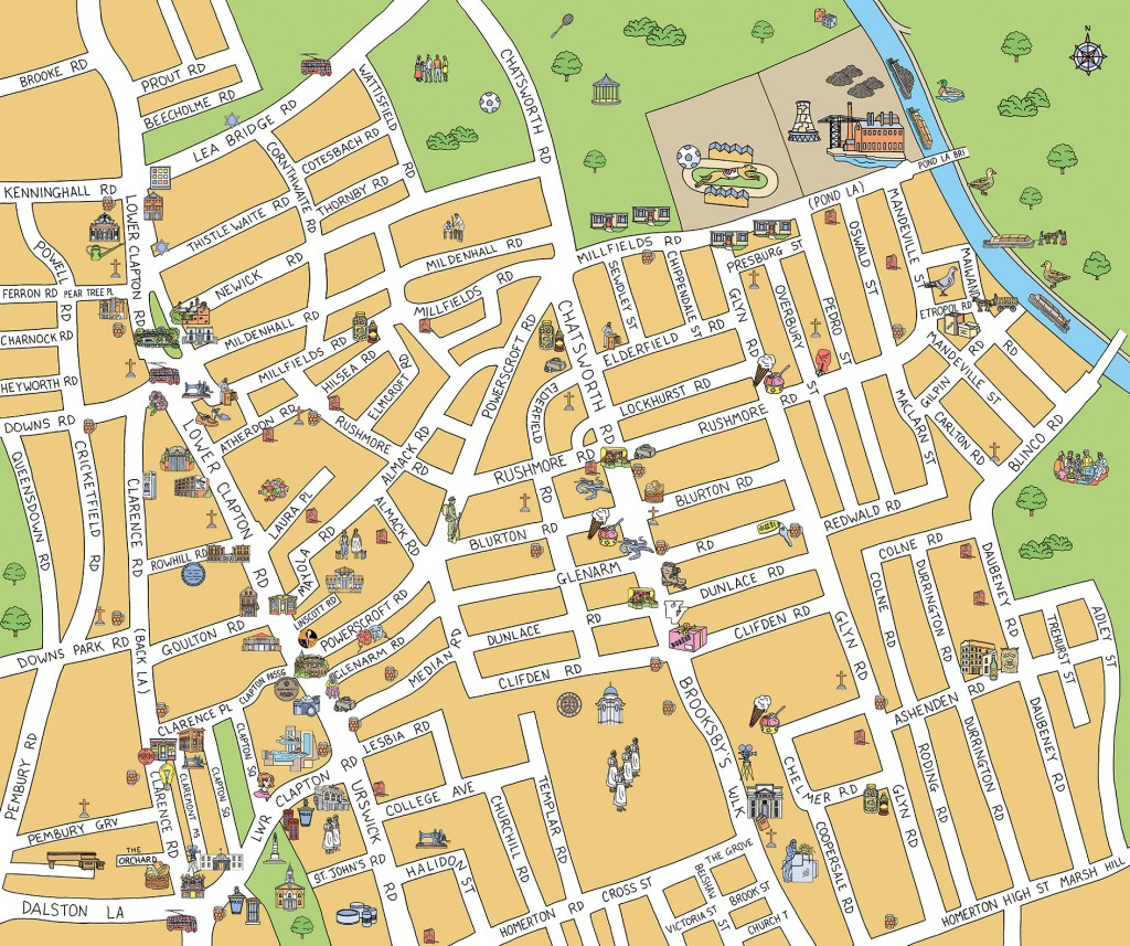 Historical map for Hackney Historic Buildings Trust
