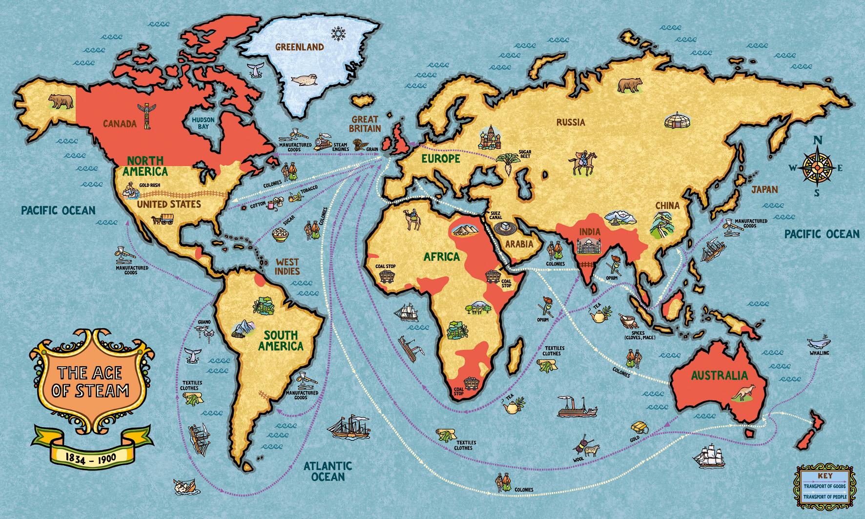 British Empire Map 1900.Trade In The British Empire Jane Smith S Blog