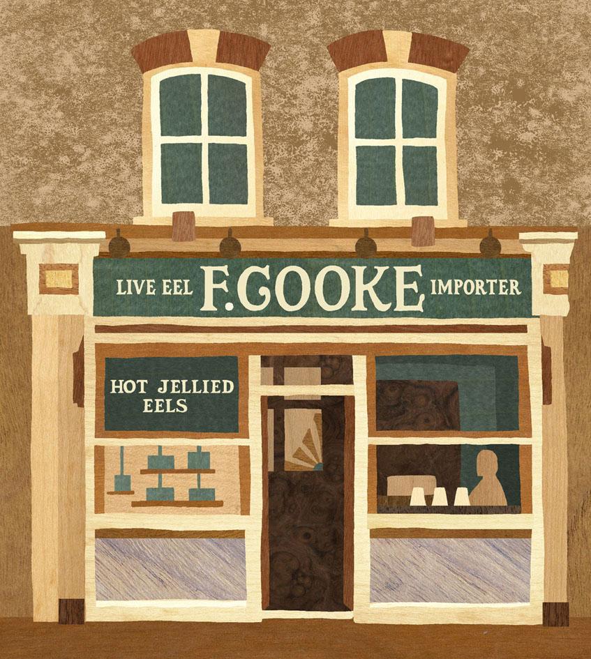 F. Cooke, Broadway Market, London E8