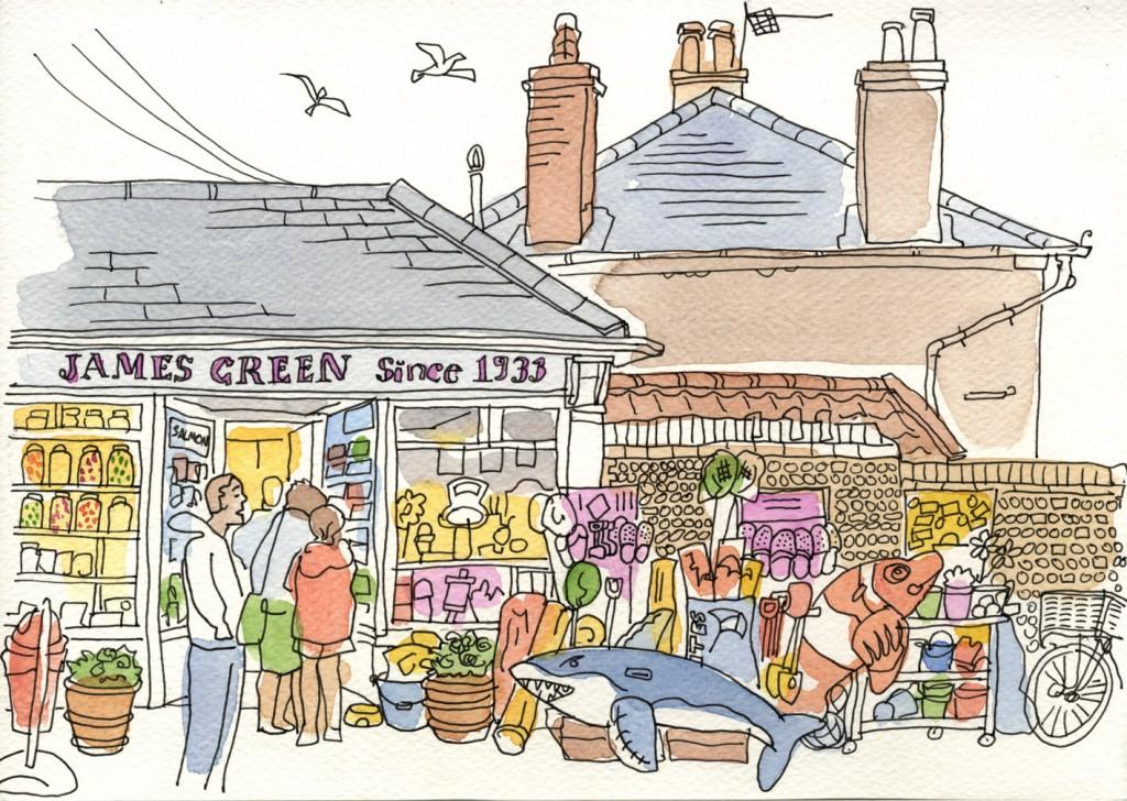 Sweet Shop, Southwold, Suffolk