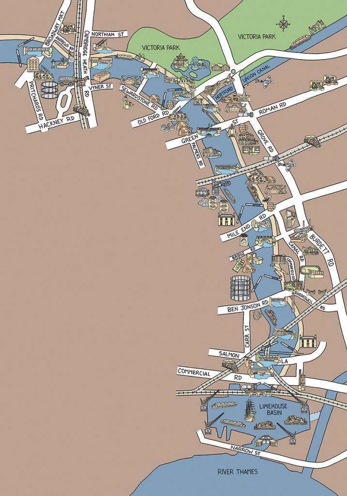 Historical map for Regent's Canal Heritage