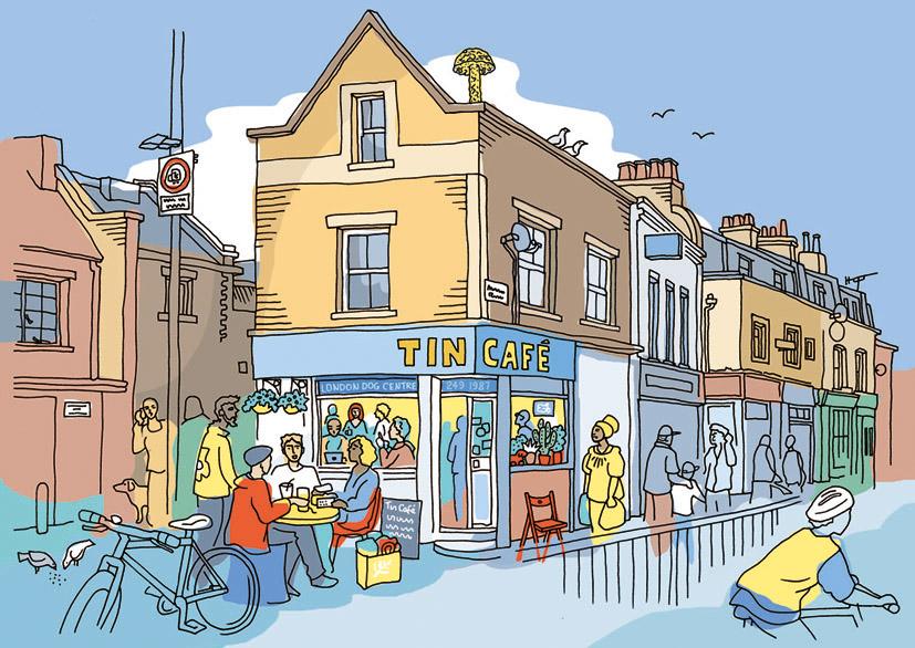 Tin Cafe, Haggerston, London E8
