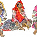 Rabari women, Rajasthan, India