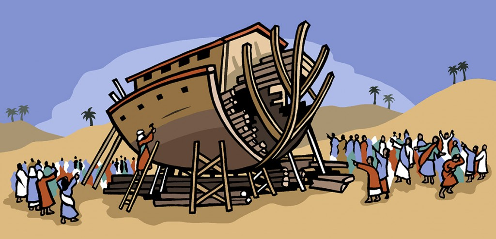 Educational Biblical illustration for Nelson Thornes