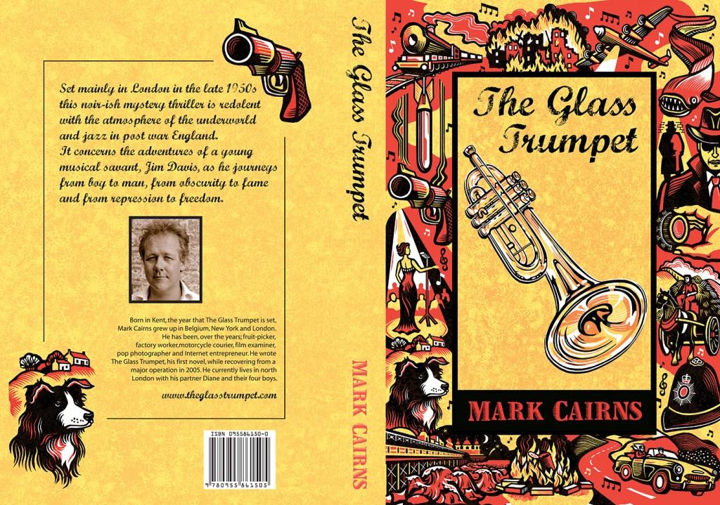 Cover illustration for The Glass Trumpet - Mark Cairns www.theglasstrumpet.com