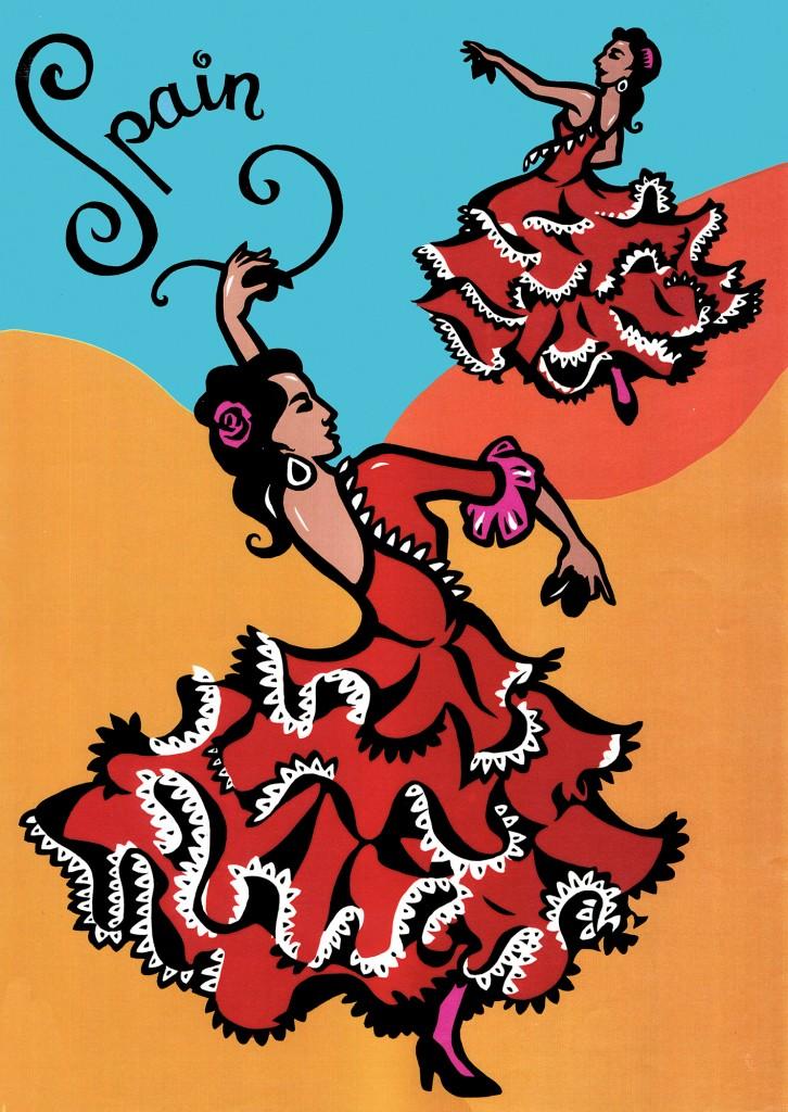 Spain - promotional postcard