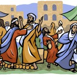Edudcational Biblical illustration for Nelson Thornes