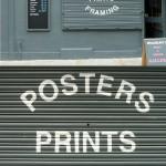 Signage for Bardbury's Gallery, London N16