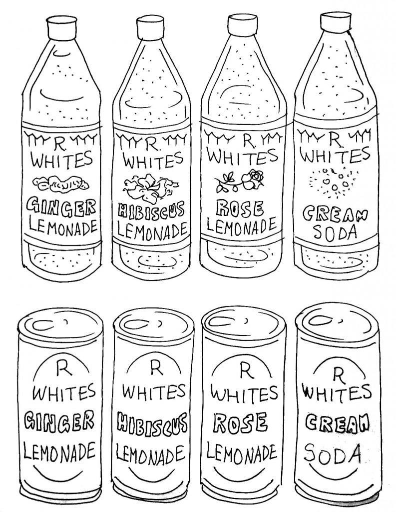 R. White's / Britvic visual